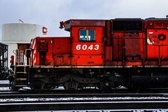 Canada's Finest (BravoDelta1999) Tags: canadianpacific cp cpr rail railroad milwaukeeroad milw railway nahant yard davenport iowa emd sd402 6043