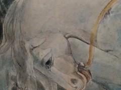 UK - London - Westminster - Tate Britain - William Blake exhibition - Conversion of Saul - Horse (JulesFoto) Tags: uk england london westminster tatebritain williamblake horse