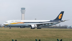 M-ABLV CDB Aviation Airbus A330-300 EX VT-JWS at EIDW Jan 2020 (Conor O'Flaherty) Tags: jet airways mablv airbus a330 a333 dublin dublinairport dub lourdes vtjws grass plane