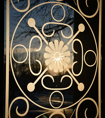 Etched glass in the front doors at Bay City Hall (TAC.Photography) Tags: 2020 d7500