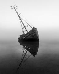 Ghost Ship (michaelclarke_photography) Tags: pinmill suffolk ipswich river orwell seascape boats fuji fujifilm xt1