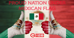 Mexico flag painted on female hands thumbs up (emmett.g128store) Tags: mexico up thumbs flag hand thumb business background paint symbol achievement success gesture concept happy people excellence human positive good support national yes like sign great painted adult government travel two female body tourism communication power country competition
