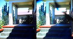 Batch G 0156 (dizzygum) Tags: vintage 3d stereo slide image 1959 house exterior
