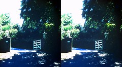Batch G 0146 (dizzygum) Tags: vintage 3d stereo slide image 1959 house exterior