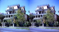 Batch G 0144 (dizzygum) Tags: vintage 3d stereo slide image 1959 house exterior