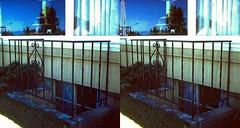 Batch G 0142 (dizzygum) Tags: vintage 3d stereo slide image 1959 house exterior