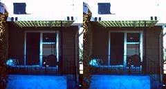 Batch G 0133 (dizzygum) Tags: vintage 3d stereo slide image 1959 house exterior