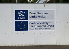 Dover Western Docks Revival 2072 (Tony Withers photography) Tags: europe brexit finance dover regeneration revival money investment politics docks marina kent