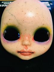 Living Dead Blythe (So Far...) (Josie&theKILLER_DOLLS) Tags: wip odd scary veins bruises dead creepy zombie bait rbl ooak custom doll blythe