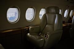 DSCF6694 (J E) Tags: dassault falcon 900 f900 interior seat aircraft aviation airplane leather windows cabin