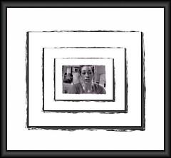 Talking framed... (jrmcmellen) Tags: sarah frame talking