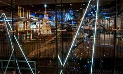 The Kingdom of Light & Reflection (Ula P) Tags: forum forumgdańsk poland polska lights reflection christmastime sony sonyalpha