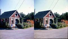 Batch G 0126 (dizzygum) Tags: vintage stereo 3d slide image 1959 house exterior