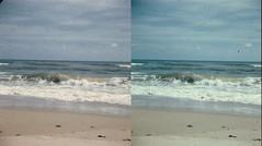 Batch G 0116 (dizzygum) Tags: vintage stereo 3d slide image 1959 beach waves