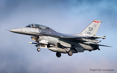 SPM | US Air Force Lockheed F-16D Fighting Falcon | 91-0481 (Timothée Savouré) Tags: 910481 f16 f16d lockheed martin general dynamics united states us air force usaf europe usafe spangdahlem spm etad landing