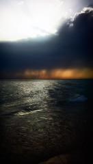 Tormentoso ocaso (jantoniojess) Tags: storm tormenta lluvia ocaso atardecer playa sunset beach sea mar cádiz andalucía españa spain playadelavictoria paisaje nubes clouds cloudy