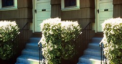 Batch G 0157 (dizzygum) Tags: vintage 3d stereo slide image 1959 house exterior