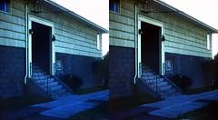Batch G 0132 (dizzygum) Tags: vintage 3d stereo slide image 1959 house exterior
