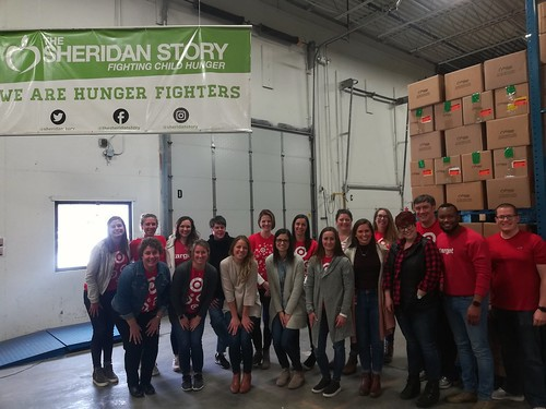 Target Talent and Change Packing Event, 1/21/20