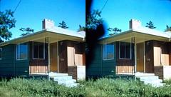 Batch G 0129 (dizzygum) Tags: vintage stereo 3d slide image 1959 house exterior