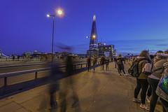 busy bridge (benny-boy_84) Tags: london longexposure canon londonbridge riverthames thames river trails cityscape dusk efs eos