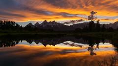 Golden Sunset in Wyoming (Ken Krach Photography) Tags: grandtetonnationalpark