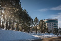 Hotel in the Zlatibor during Winter (Ivica Vojnić) Tags: zlatibor serbia turism ivicavojnicphotography srbija planina mountain landscape wideangle lake nature nikon nikond750 visitserbia winter snow hotel architecture tornik resort pine trees priroda ivicavojnicfotograf