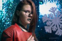 DSC01304alt (kolomiichenko.vladyslav) Tags: portrait girl cute winter redhead style face fashion leather jacket glasses sony sonyalpha sonya6000 studio bokeh vintatage vintagelens helios helios44m edit speedbooster viltrox look