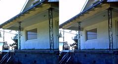 Batch G 0143 (dizzygum) Tags: vintage 3d stereo slide image 1959 house exterior