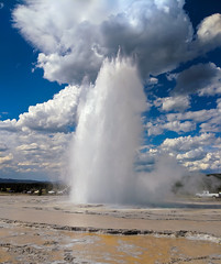 Great Fountain Geyser (Curtis Lannom) Tags: nationalpark yellowstone wyoming vacation nps teton nature
