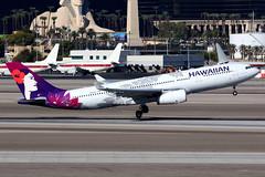 Hawaiian Airlines   Airbus A330-200   N360HA   Las Vegas McCarran (Dennis HKG) Tags: aircraft airplane airport plane planespotting canon 7d 100400 lasvegas mccarran klas las hawaiian hawaiianairlines hal ha usa n360ha airbus a330 a330200 airbusa330 airbusa330200