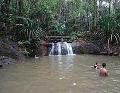 Small Waterfall in Paradise (mikecogh) Tags: colisuva waterfall rockpool swimming paradise
