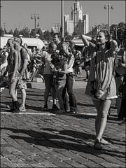 18drf0387 (dmitryzhkov) Tags: urban city everyday public place outdoor life human social stranger documentary photojournalism candid street dmitryryzhkov moscow russia streetphotography people man mankind humanity bw blackandwhite monochrome