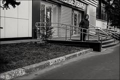 18drh0176 (dmitryzhkov) Tags: urban city everyday public place outdoor life human social stranger documentary photojournalism candid street dmitryryzhkov moscow russia streetphotography people man mankind humanity bw blackandwhite monochrome