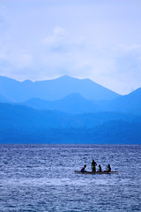 Boats at the sea (Tiket2) Tags: asia asiatravel indonesia travel travelpic travelphoto indonesian amazing stunning tiket2 creativecommons free freephoto attribution tourism tourist exotic tropical boat boats sea water blue waves fisherman