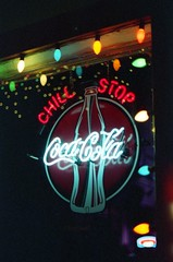008136_008136-R1-001-110 (corey m stover) Tags: nikon f 35mm 50mm 14 connecticut george washington bridge coca cola coke eau gallie neon ice first roll
