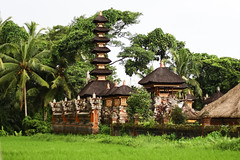A small Balinese temple among lush greenery (Tiket2) Tags: asia asiatravel indonesia travel travelpic travelphoto indonesian amazing stunning tiket2 creativecommons free freephoto attribution tourism tourist exotic tropical temple sacred holy hindu bali balinese