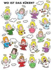 Postcrossing DE-8890522 (booboo_babies) Tags: angel drawing illustration cartoon germany german postcrossing