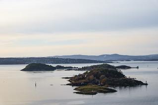 Bleikøya in the Oslo fjord