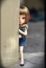 My girl ❤️ (♥..Nomyens..♥) Tags: bjd balljointdoll toy doll custom faceup paint painting painted repaint handmade nomyens nomyenscom dollsian tinydoll