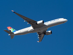 ZS-SDD SOUTH AFRICAN A350 (SouthpawCaptures) Tags: south african airways airbus a350 jfk spotting airplane airliner new takeoff