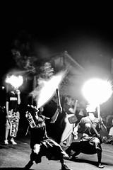 Fire breathers during the Ogoh Ogoh celebrations (Tiket2) Tags: asia asiatravel indonesia travel travelpic travelphoto indonesian amazing stunning tiket2 creativecommons free freephoto attribution tourism tourist exotic tropical fire breather firebreather celebration event bali balinese ogoh ogohogoh nyepi black white blackwhite blackandwhite