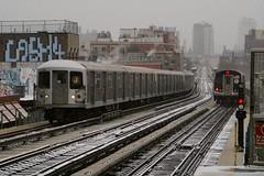 Jamaica Line (CrispyBassist) Tags: railroad railway train track transit subway elevated newyork newyorkcity newyorkcitysubway newyorkcitytransit nyc nyct nycta brooklyn jamaicaline