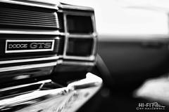 Dodge Dart (Hi-Fi Fotos) Tags: dodge dart gts 60s vintage american classiccar mopar badge chrome highkey mono bw blackandwhite nikkor 50mm 14 nikon d7200 dx hififotos hallewell