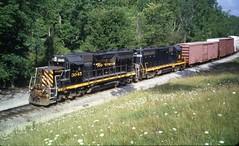 drgw 3045 (Fan-T) Tags: drgw gp35 3045 rio grande wle glen willow ohio circa 2009