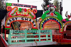 TRAJI- UBER .... really ? (Prayitno / Thank you for (12 millions +) view) Tags: xochimilco traditional mexican boat ride trajinera colorful bright color canal cdmx mexico city outdoor activity fun day boating