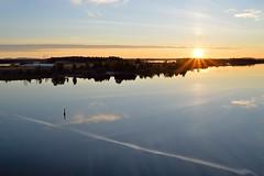 Daybreak (l i v e l t r a) Tags: df 35mm f11 canada manitoulinisland sunshine daybreak reflection morning sky water ontario clouds serene calm quiet