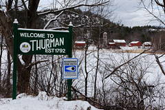 Welcome to Thurman (fotofish64) Tags: thurman warrensburg rural welcome welcometothurman est1792 sign paintedsign rustic winter snow warrencounty adirondackpark adirondacks southernadirondacks northernnewyork newyork friendly outdoor perspective pentax pentaxart kmount k70 sigma1750mmf28lens