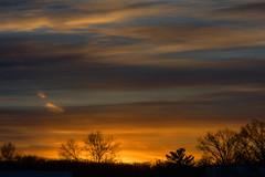 Cedar Knolls Sunset_3326 (smack53) Tags: smack53 sunset sundown paintedsky sky clouds cloudysky evening eveningsky cedarknolls newjersey nikon coolpix p7000 nikonp7000 nikoncoolpixp7000 winter wintertime