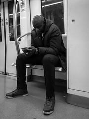 Lifestyle (Stephane Drd) Tags: lifestyle monochrome metro nb bw life street people